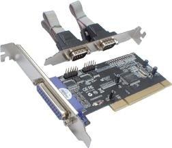 Longshine LCS-6022, 1x parallel, 2x serial, PCI