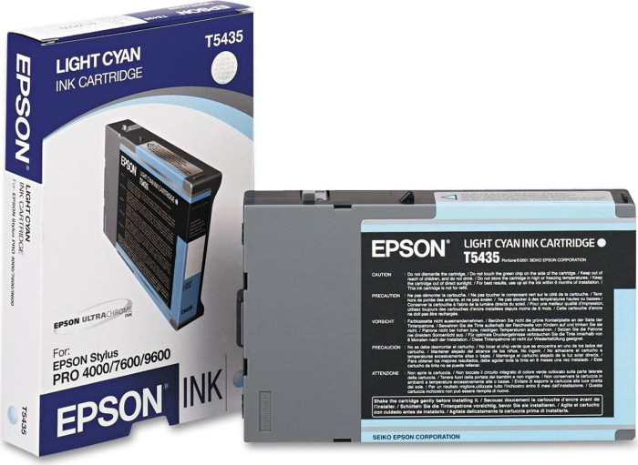 Epson Tinte T5435 cyan hell (C13T543500)