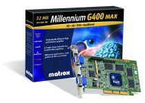 Matrox Millennium G400 32MB AGP DualHead OEM