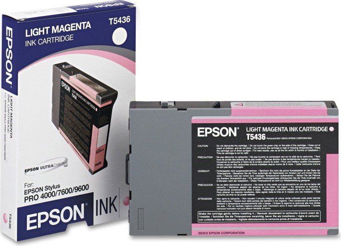 Epson T5436 Tinte magenta hell (C13T543600)