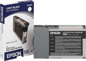 Epson Tinte T5437 schwarz hell (C13T543700)