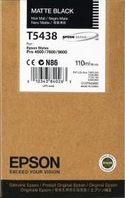 Epson Tinte T5438 schwarz matt (C13T543800)