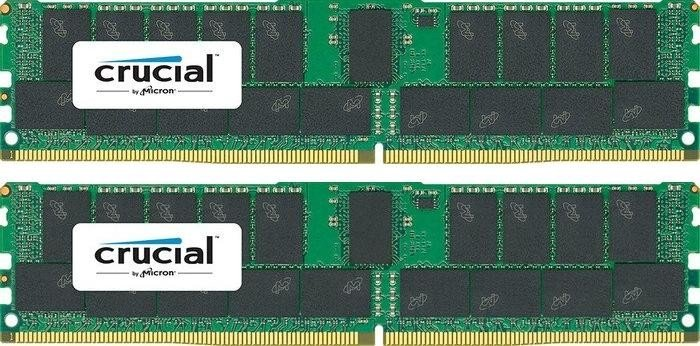 Crucial DIMM Kit 64GB, DDR4-2133, CL15, reg ECC (CT2K32G4RFD4213)