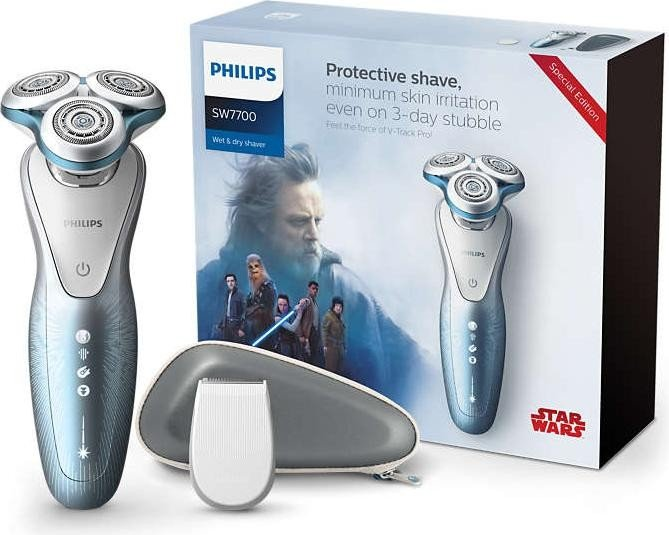 Philips SW7700/67 Series 7000 Herrenrasierer Star Wars Edition Light Side