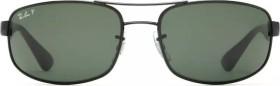 Ray-Ban RB3445 61mm black/polarized green (RB3445-002/58)