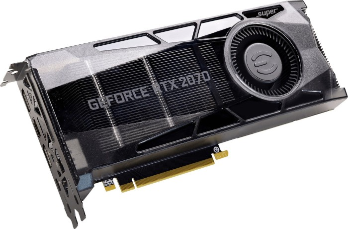 EVGA GeForce RTX 2070 SUPER Gaming, 8GB GDDR6, HDMI, 3x DP, USB-C (08G-P4-3070-KR)