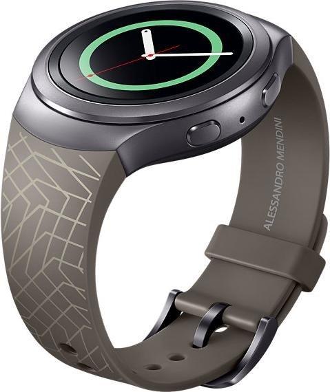 Samsung Armband Mendini Edition für Gear S2 braun (ET-SRR72MD)