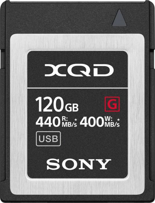 Sony G-Series R440/W400 XQD Card 120GB (QD-G120F)