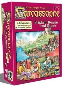 Carcassonne - Brücken, Burgen und Basare (8. Erweiterung)