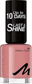 Manhattan load & Shine nail polish 120 spring crush, 8ml