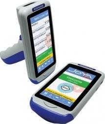 Datalogic Joya Touch Plus Pistolengriff, grau/blau/blau (911350011)