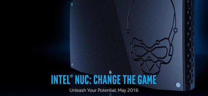 Intel NUC kit NUC6i7KYK - Skull Canyon (BOXNUC6I7KYK)
