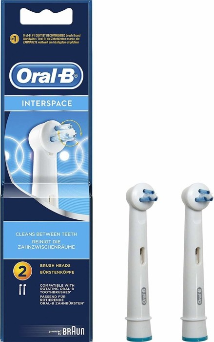 Oral-B brush heads Interspace, 2-pack (IP17-2) from £ 2 76