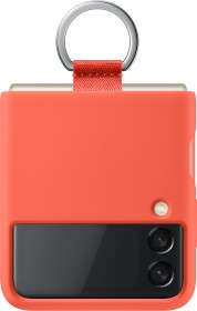Samsung Silicone Cover with ring for Galaxy Z Flip 3 5G Coral (EF-PF711TPEGWW)