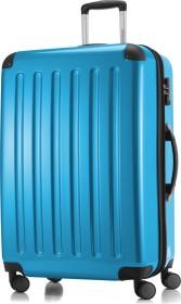 Hauptstadtkoffer Alex TSA Spinner erweiterbar 75cm cyanblau glänzend (82780035)