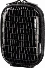 Hama Hardcase Croco 40G Kameratasche schwarz (115735)