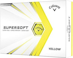 Callaway SuperSoft, yellow, 12 pieces