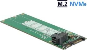 DeLOCK Converter SATA 22 pin / SFF-8643 NVMe > 1 x M.2 NGFF Key M (62703)