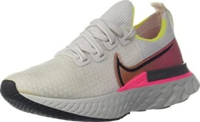 Nike React Infinity Run Flyknit platinum tint/pink blast/total orange/black (ladies) (CD4372-004)