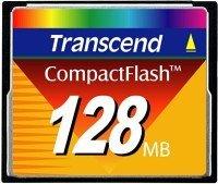 Transcend CompactFlash Card (CF) 128MB (TS128MFLASHCP)