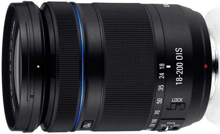 Samsung NX 18-200mm 3.5-6.3 ED OIS i-Function schwarz (EX-L18200MB)