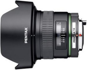 Pentax smc DA 14mm 2.8 ED IF schwarz (21510)