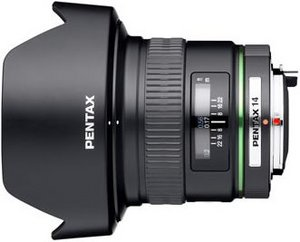 Pentax smc DA 14mm 2.8 ED IF black (21510)