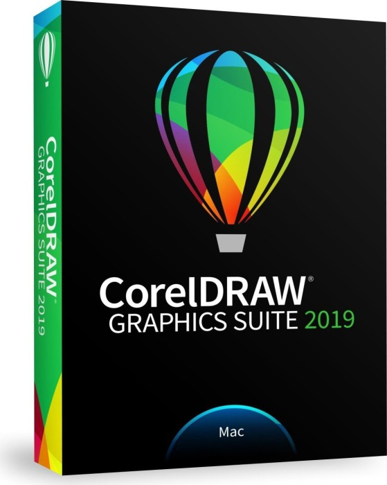 Corel CorelDraw Graphics Suite 2019 (multilingual) (MAC) (CDGS2019MMLDPEU)