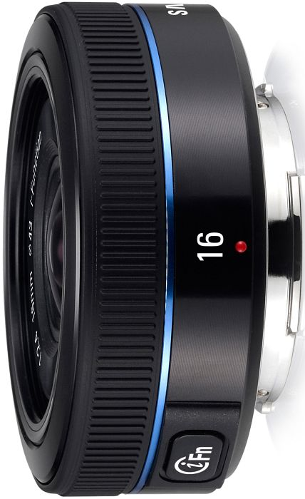 Samsung lens NX 16mm 2.4 i-function black (EX-W16NB)