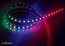 Akasa Vegas MBW, RGBW, 50cm, LED stripes (AK-LD06-50RB)