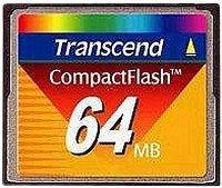 Transcend CompactFlash Card [CF] 64MB (TS64MFLASHCP)