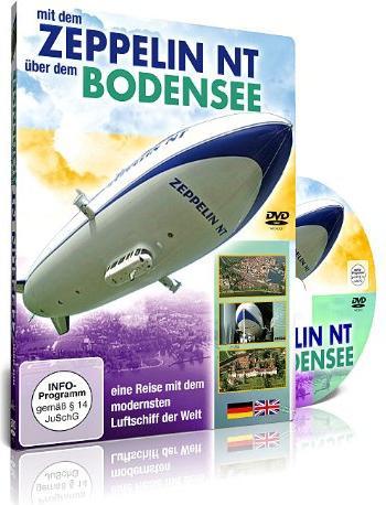 Mit dem Zeppelin NT über dem Bodensee -- via Amazon Partnerprogramm