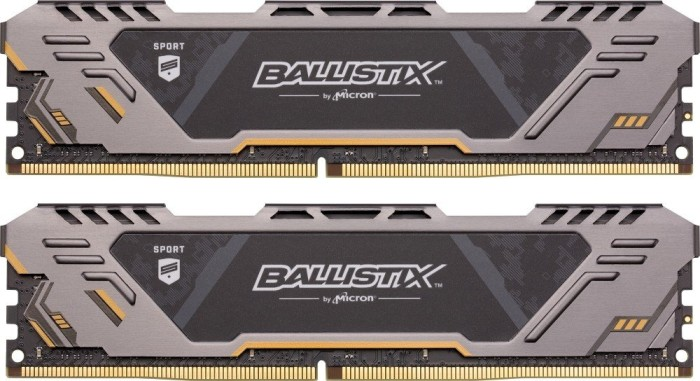 Crucial Ballistix Sports AT DIMM kit 16GB, DDR4-3200, CL16-18-18 (BLS2C8G4D32AESTK/BLS2K8G4D32AESTK)