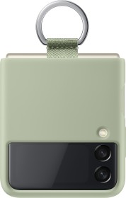 Samsung Silicone Cover with Ring für Galaxy Z Flip 3 5G Olive Green (EF-PF711TMEGWW)