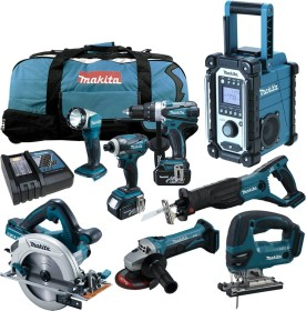 Makita DHS710RF2J cordless circular saw incl. MAKPAC + 2 Batteries 3.0Ah