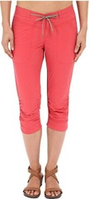 Columbia Down The Path pant short sunset red (ladies)