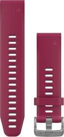 Garmin Ersatzarmband QuickFit 20 Silikon kirschrot (010-12739-05)