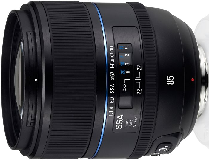Samsung NX 85mm 1.4 ED SSA i-function black (EX-T85NB)