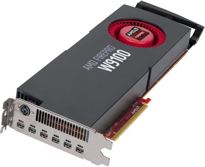 AMD FirePro W9100, 16GB GDDR5, 6x mDP, SDI (100-505977/31004-45-40A)