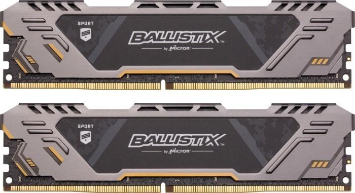 Crucial Ballistix Sports AT DIMM kit 32GB, DDR4-3200, CL16-18-18 (BLS2C16G4D32AEST/BLS2K16G4D32AEST)