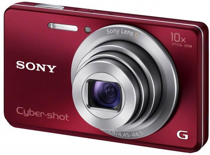 Sony Cyber-shot DSC-W690 red