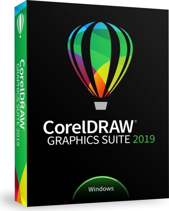 Corel CorelDraw Graphics Suite 2019, Update (multilingual) (PC) (CDGS2019DEDPUG)