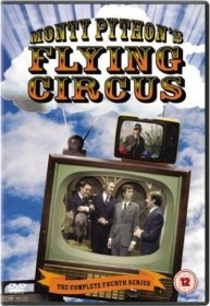 Monty Python's Flying Circus Season 4 (DVD) (UK)