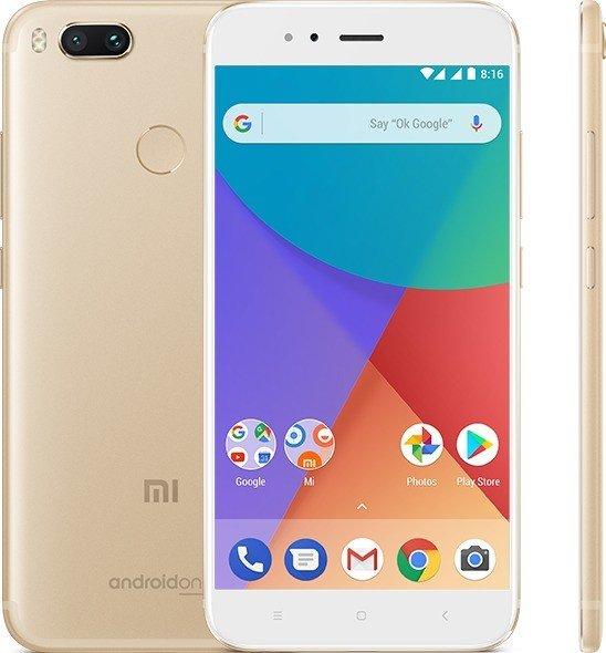 Xiaomi Mi A1 32GB gold -- via Amazon Partnerprogramm