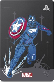 Seagate Game Drive for PS4 - Marvel Avengers Limited Edition 2TB, Captain America, SATA 6Gb/s (STGD2000203)