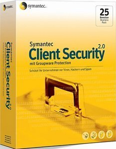 Symantec Client Security SBS 2.0, 5 User (PC)