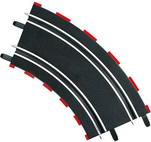 Carrera - Digital 143/GO!!! Acceessories - Curve 2 / 45 degrees (61617) -- via Amazon Partnerprogramm