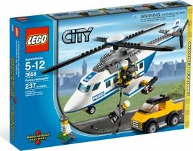 LEGO® City 3658 Polizei Helikopter NEU NEW OVP MISB