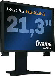 "iiyama ProLite H540S-B, 21.3"", 1600x1200, analog/digital, Audio"