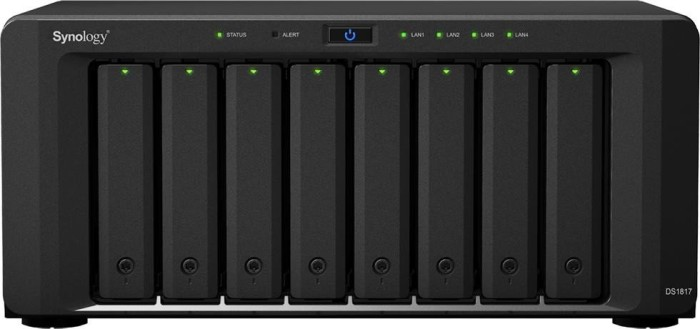 Synology DiskStation DS1817 60TB, 2x 10GBase/2x Gb LAN